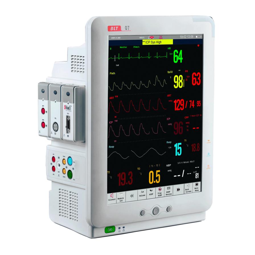 Modulinis paciento monitorius Q7