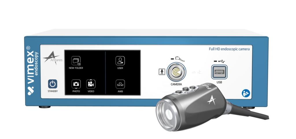 Aukštos raiškos endoskopinė kamera VIMEX Antares FULL HD