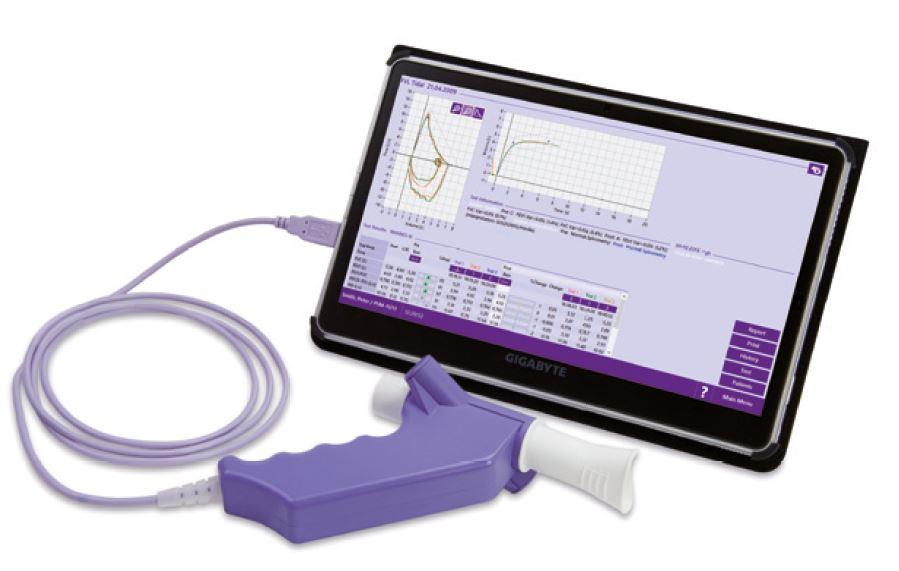 Spirometras EasyOnPC
